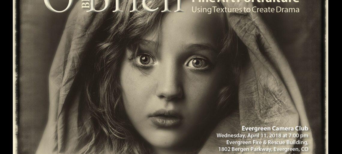 Fine Art Portraiture-Using Textures to Create Drama