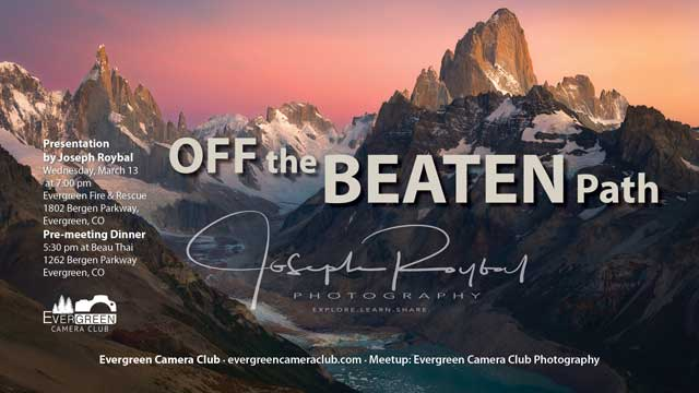 Joseph Roybal: Off the Beaten Path