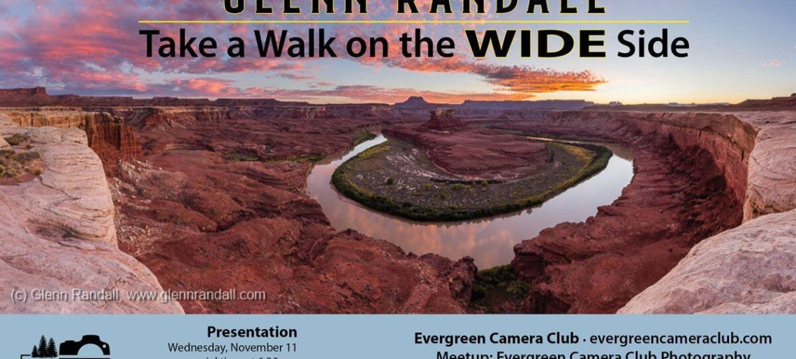 November Meeting: Glenn Randall – Take a walk on the WIDE side
