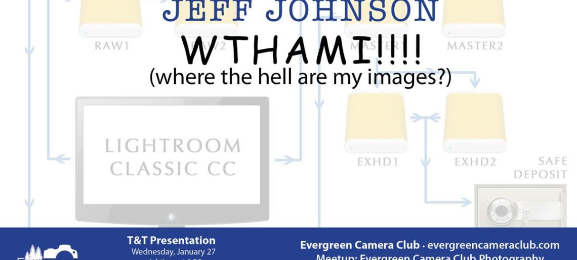 JEFF JOHNSON WTHAMI? Where the Hell Are My Images?