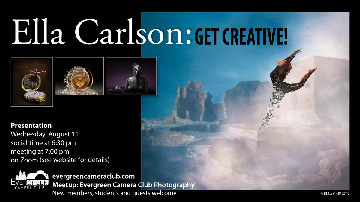 August 11th General Meeting: Get Creative! with Ella Carslon
